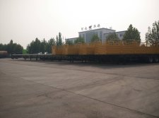 20 units of flatbed trailer and side wall open trailer shipped to East Africa