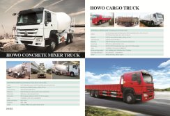 Cargo Truck and Mixer Truck