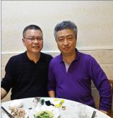 Cleint from South Korea have dinner with our CEO