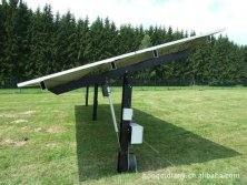 solar energy electric linear actuator