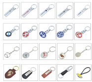 Automobile key chain product display