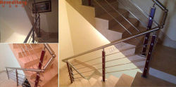 Stainless Steel Stair Railing installed in Malta