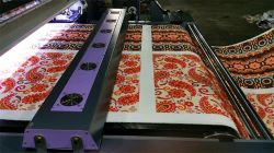 printing for roll cotton fabrics with pigment ink
