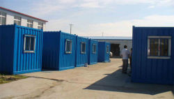 Russia welded container house project