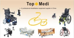 Wheelchair hospital bed walking aids