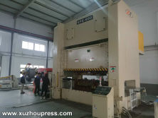 Straight Side Power Press 600ton + 3 in 1 Decoil Feeder