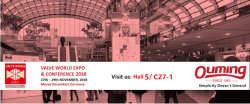2018 Germany valve world expo & conference