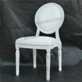 White Louis Wedding Chair YC-D04-08