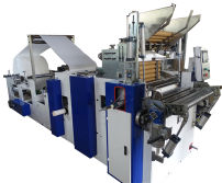 Bed sheet roll machine