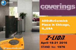 2016 Coverings Fair Chicago @ Z-LION in HERE!