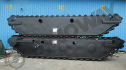 Hydraulic undercarriage pontoion to Russia