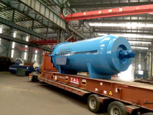 To Lebanon: 2200x4000mm Composite Autoclave to Lebanon in 2016