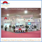 exhibition for laminated/insulated/tempered/glass in china