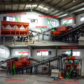 Ammonium sulfate fertilizer granulating line