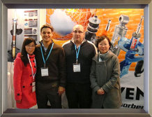 Customer visits - meeting at the exhibition