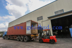 We are loading goods for customer