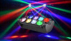 Multicolor Spider Moving Head Light (ICON-M080A)