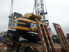 320B Excavator Were Shipped by Bulk Cargo Ship