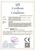 CE Certificate of touch monitor