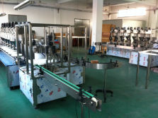 automatic powder bottle filler capper(monoblock machine, with bottle turntable)