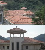 Shenzhen roof tile project