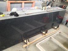 China cheap granite G654 Dark Impala Grey granite slabs