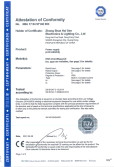 TUV /CE/ LVD Certification of 3W-54W LED driver