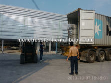 loaded container at my factory