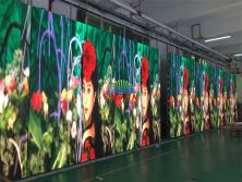 P3.91 indoor LED screen 75 sq.m exported to Indonesia