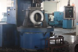 Vertical-lathe-processing
