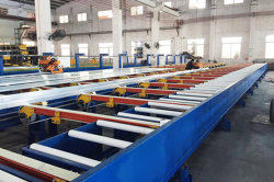 aluminium profile extrusion production process