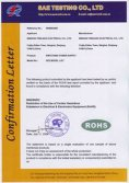 RoHS certificate for 60W