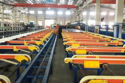 aluminium extrusion production line
