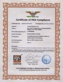 SSIC FDA Certificate for Food industry