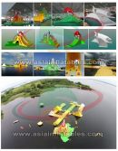 Inflatable Water Park, Floating Water Island, Aqua Water Island Park