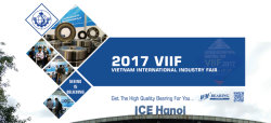 2017 V.I.I.E - Vietnam International Industry Fair in Honai
