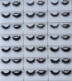 5D mink eyelash catalog