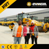 Ethiopian Clients Visited XCMG Factory for Motor Grader and Road Roller
