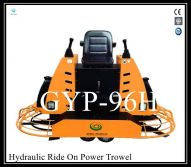 Best Seller,Hydraulic Ride on Power Trowel GYP-96H