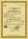FCC certificate of wireless charger