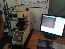 Hardness test equipment