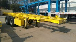 2Axle 25ton Skeletal Container trailer Exported to North America
