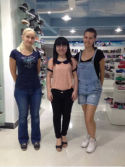 The client from Russia come to visit