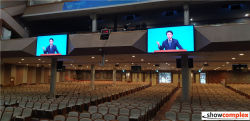 P2.5 indoor led display monitor in church