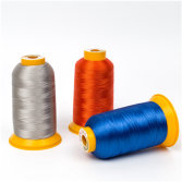 Flame retardant thread