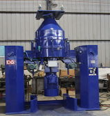 Masterbatches Automatic Container Mixer for Powders