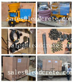 Jordan shotcrete machine with spare part