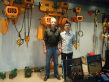 2.ELK Hoist Clients Visit