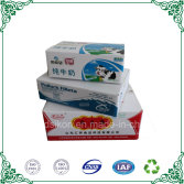 Color printing corrugated carton box