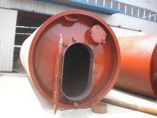 2800-6600 Tyre pyrolysis machinery for india user